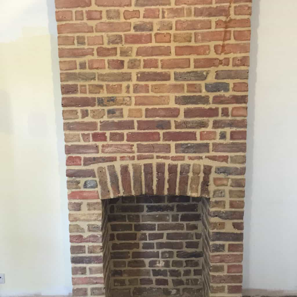 Brick pointing in Surrey